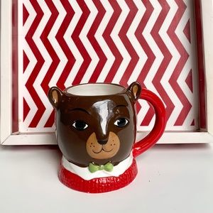 Bear with Bow Threshold Mug